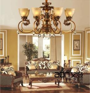Antique-Bronze-Chandelier-8-Arm-font-b-Modern-b-font-Chandelier-Lighting-Carved-Crystal-Chandelier-Living